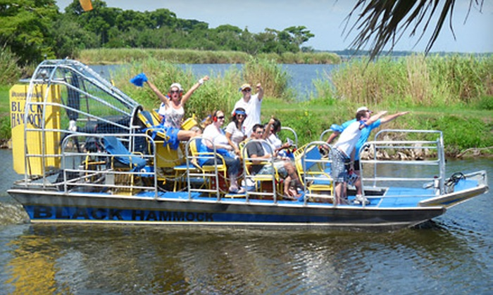 having a great time during an original orlando tours gatorpalooza gator lake airboat ride