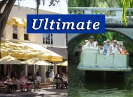 Park avenue for shopping, dining and a scenic boat tours in historic old world winter park during the boat and shopping tour on original orlando tours