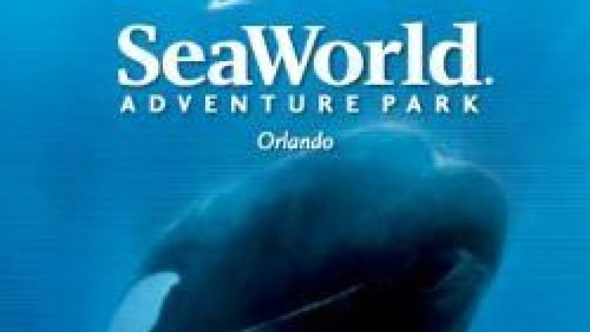 seaworld orlando logo with shamu custom tour